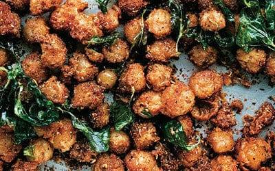 Spicy Chickpea Poppers