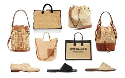 Raffia–Understated Summer Chic at its Finest